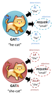 """Gatos"" by [1] - , in turn created from . Licensed under CC BY 3.0 via Wikimedia Commons."